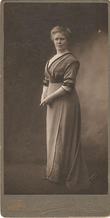 Władysława Sawicka, siostra Leonarda Wyrzykowskiego