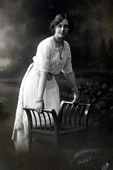 Anna Ostrowska-Arbaczewska, nauczycielka szkół polskich w Rydze i Lipawie