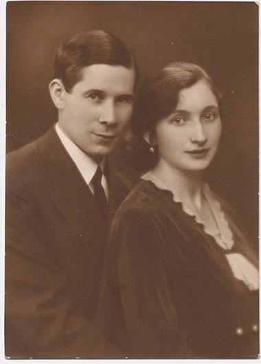 Leon Beczalis z małżonką Jadwigą