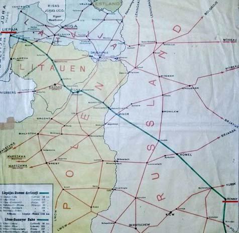 Linia kolejowa Lipawa-Romny